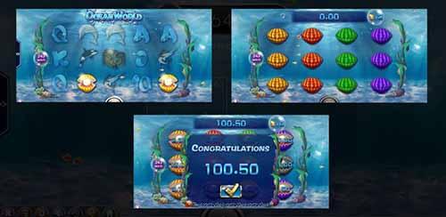 ฟีเจอร์โบนัสเกมส์-Ocean-World